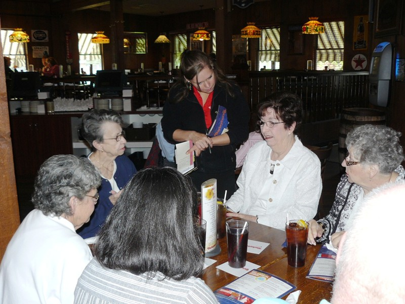 55+ Luncheon at Barleycorn's